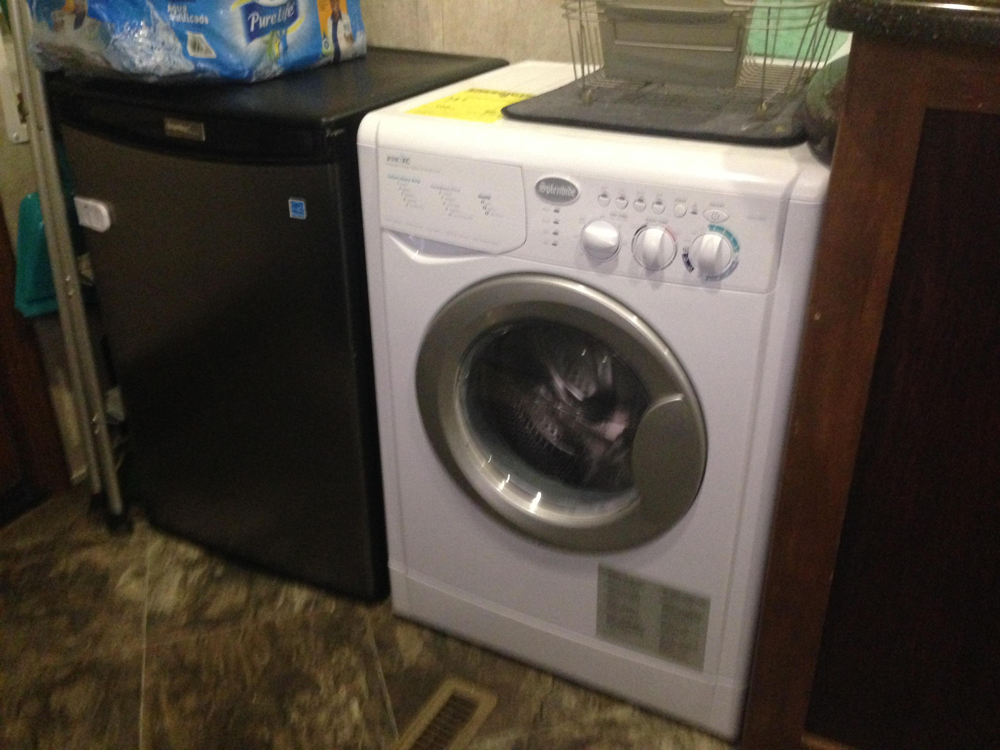 washing machine and dryer installation
