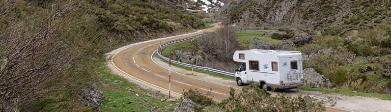 RV Manufacturers - rv on road