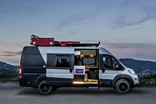 Fiat Ducato Camper Van