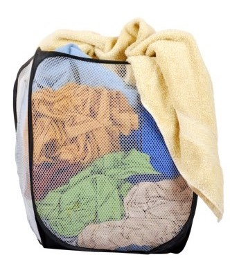 Pop up laundry hampers