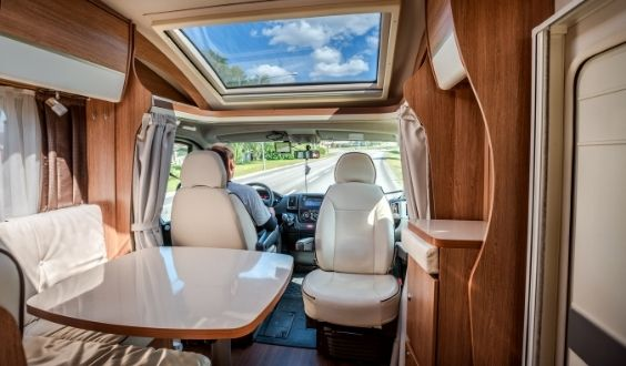 spring cleaning - inside rv